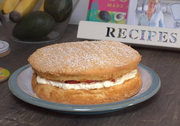 Classic Sponge Cake – gluten free